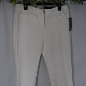 Capri Mid Rise Dress Pants